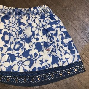 Hollister Floral Skirt with Pockets